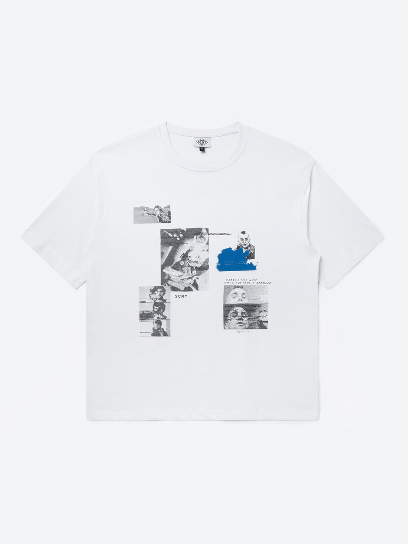 Taxi Collage T-Shirt - White