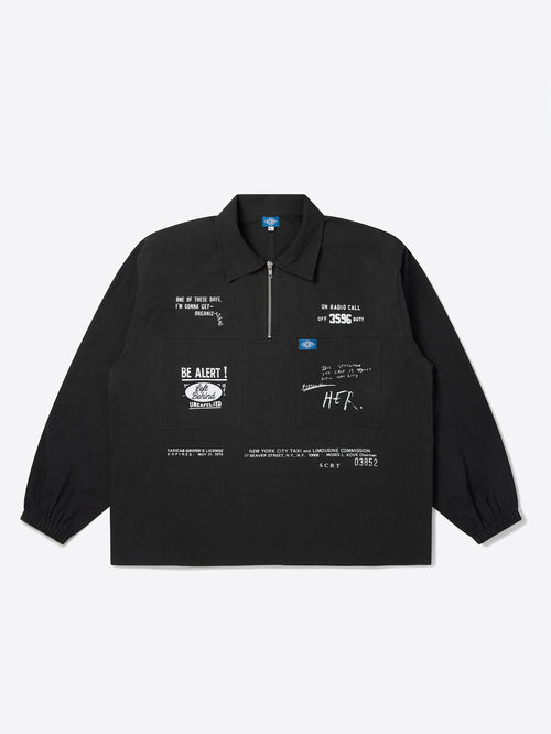 Taxi Set Overshirt - Black