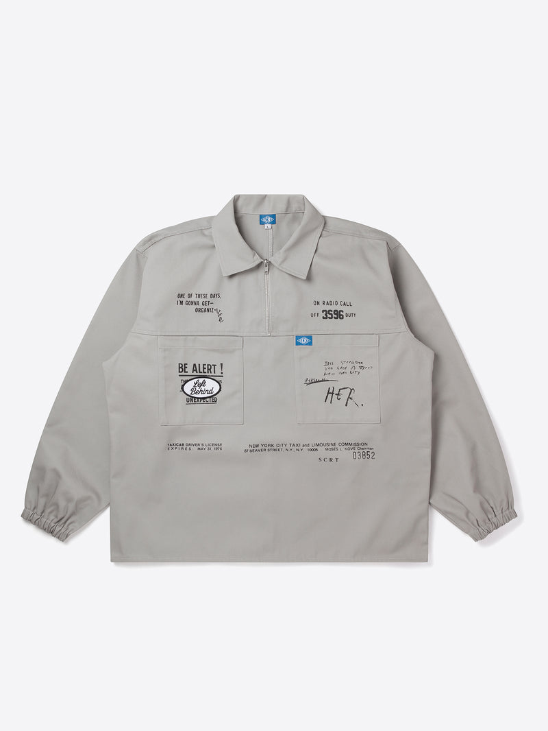 Taxi Overshirt - Grey