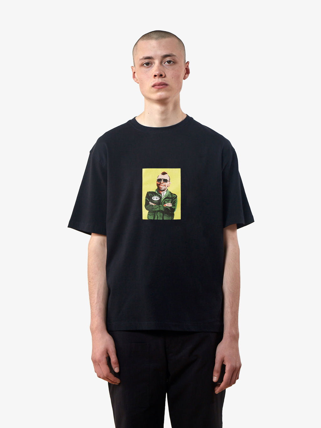 T-Shirt Travis - Noir