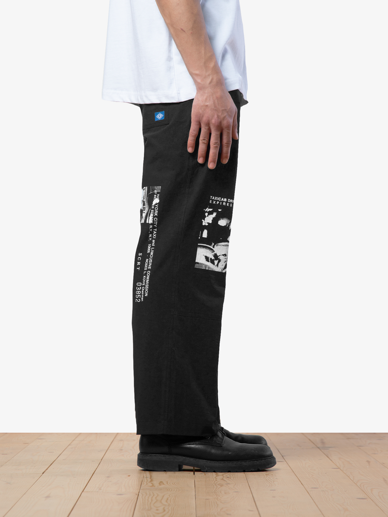 Taxi Set Trousers - Black