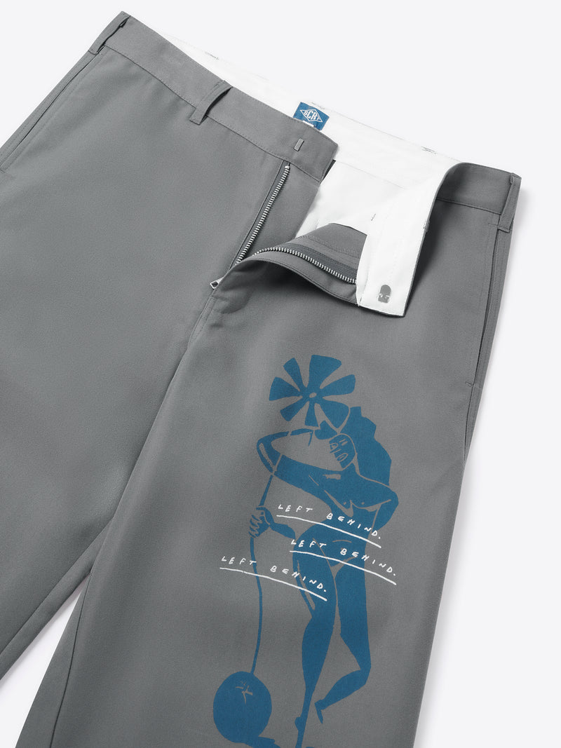Posthuman Trousers - Grey