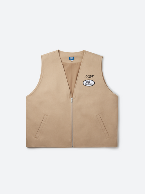 Marshall Vest - Brown