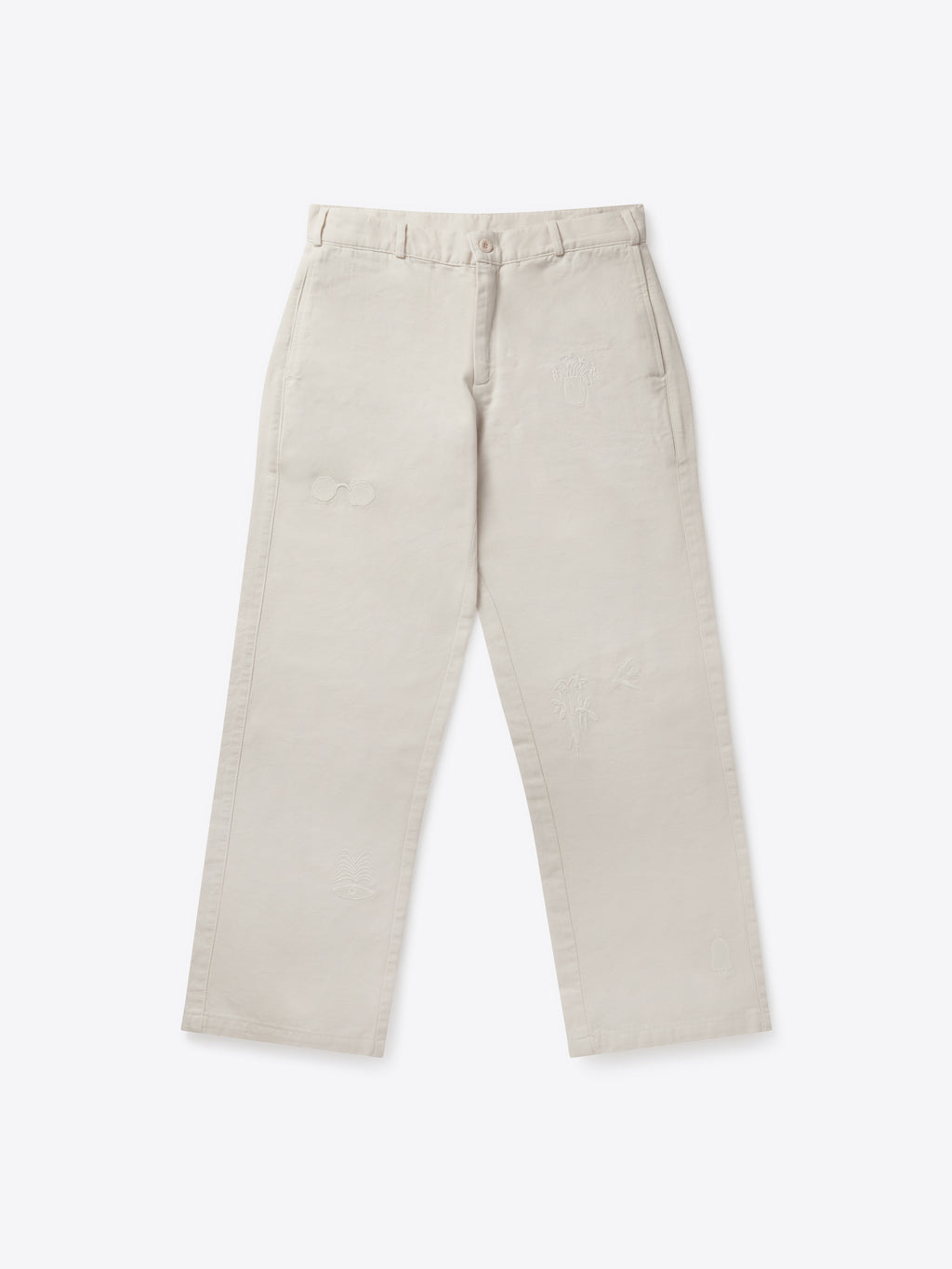 Pantalon de paix - Naturel