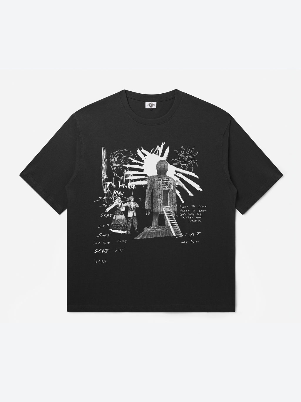 Wicker Man T-Shirt - Black