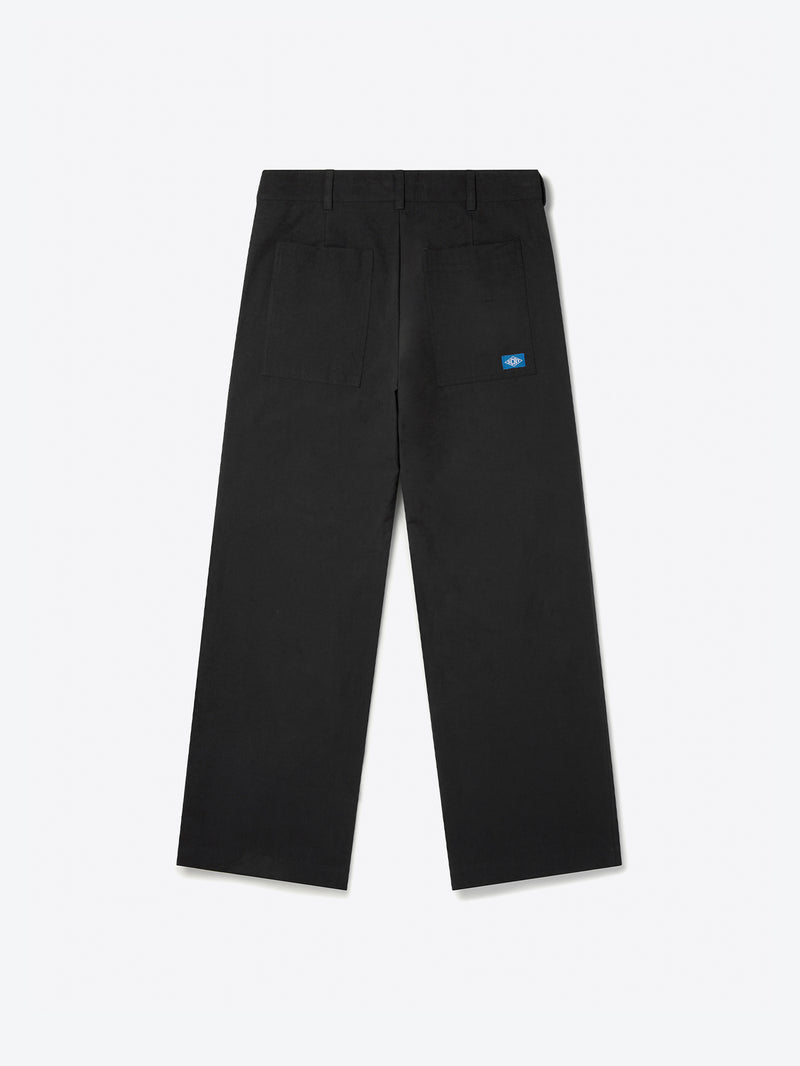 Panel Trousers - Black