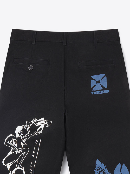 Posthuman Trousers - Black