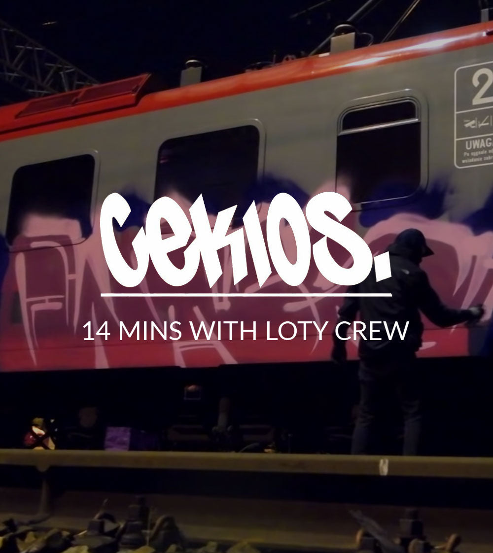 VIDEO - CEKIOS, 14 MINUTES WITH LOTY CREW