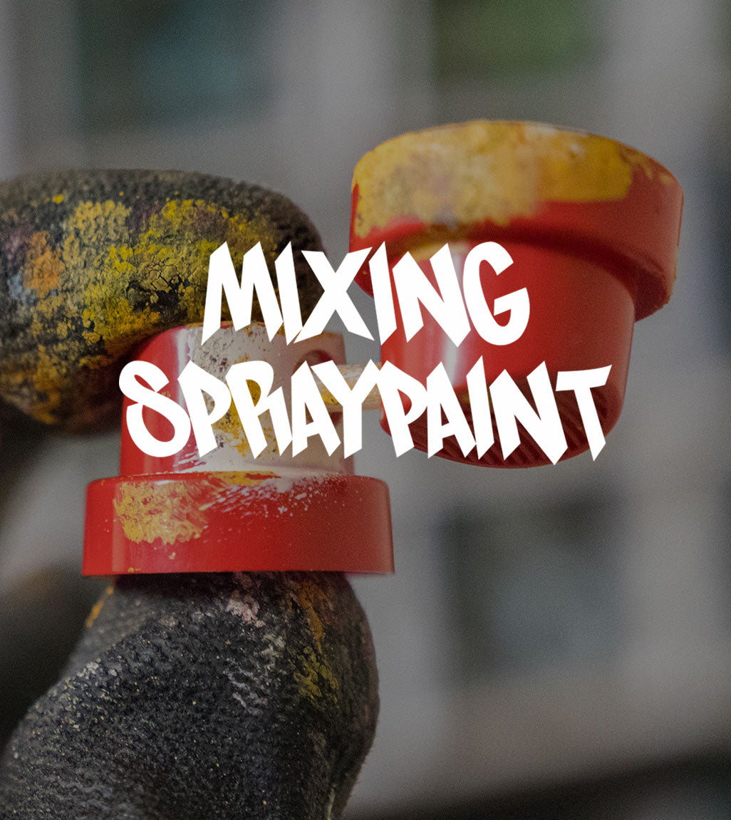 VIDEO - HOW TO MIX SPRAY PAINT