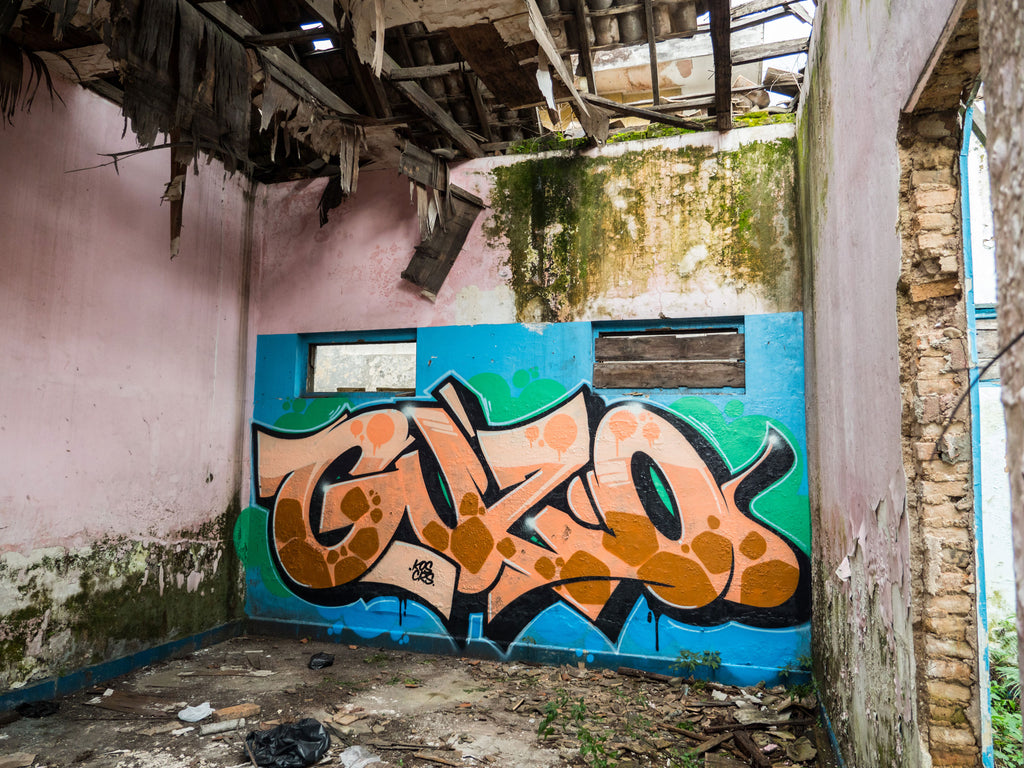 GUZO under 5 minutes graffiti