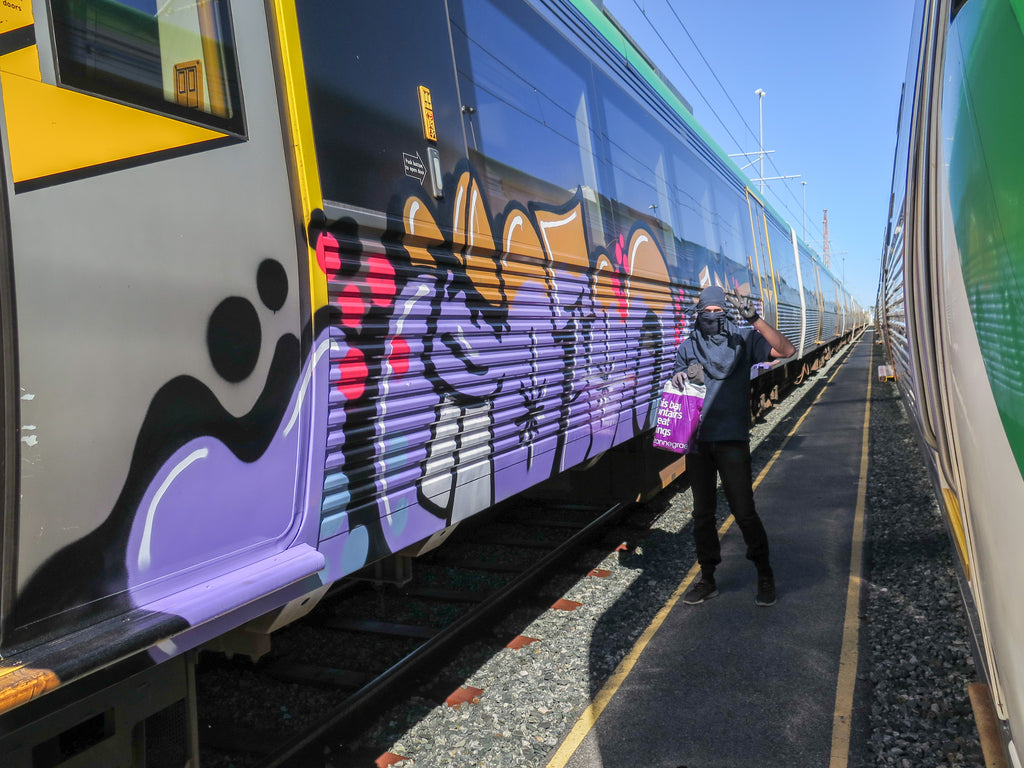 BSP CLOTHING GOTOO PERTH TRAIN GRAFFITI INTERVIEW