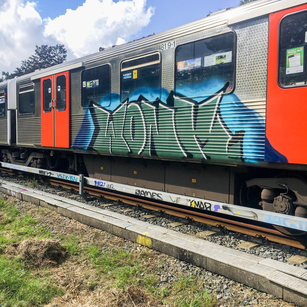 Wonk Brisbane Train Graffiti Video