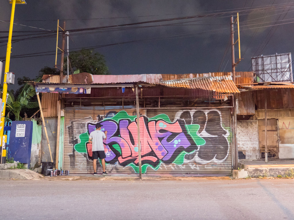 RUNE GRAFFITI INDONESIA
