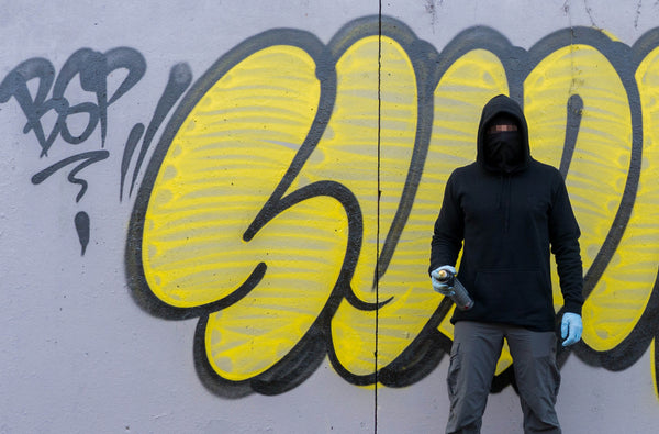 Hoodie with built in mask