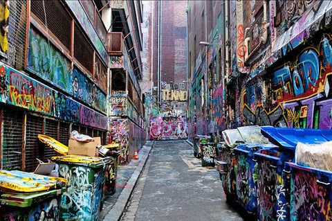 BSP graffiti blog hosier lane