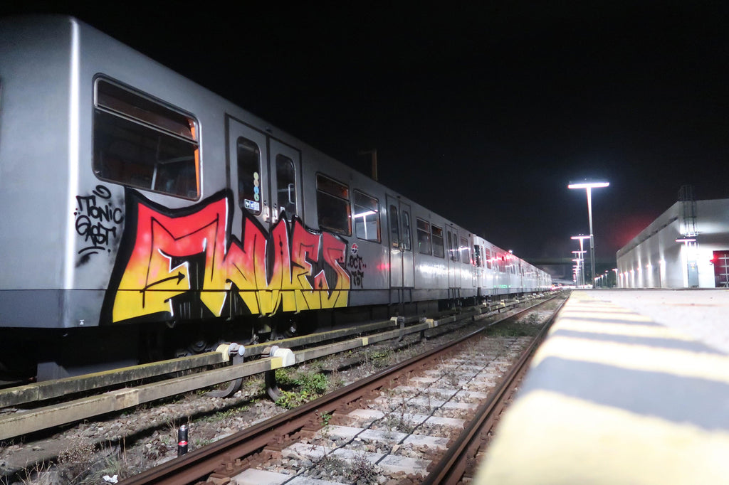 vienna train graffiti