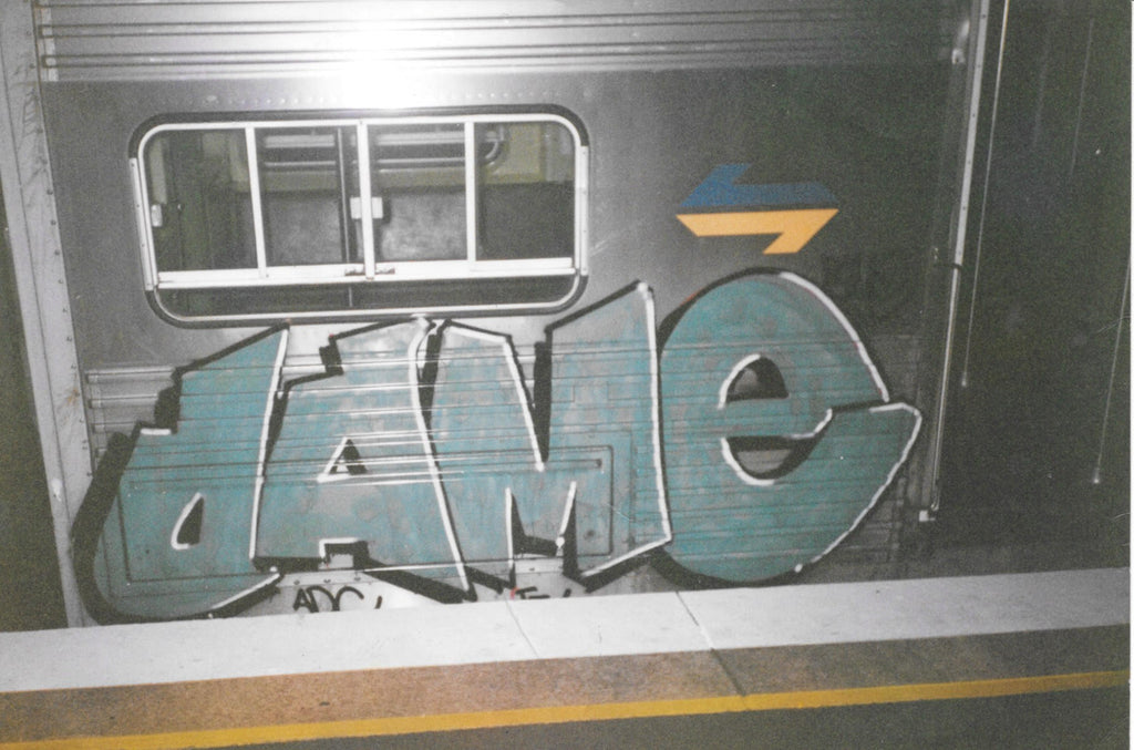 DAME BSP CLOTHING GRAFFITI INTERVIEW
