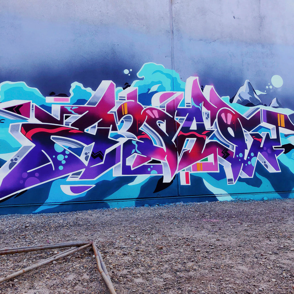 BSP CLOTHING GRAFFITI INTERVIEW TEAZ