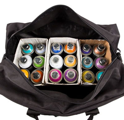 18 pack paint bag with paint inside