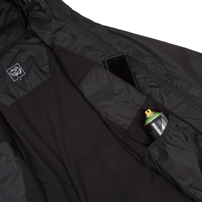 BSP Jacket with built in face mask POCKET