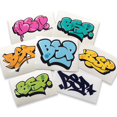 BSP Mixed Graffiti Stickers