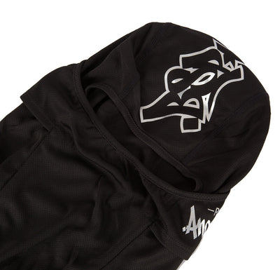 Graffiti Balaclava Black