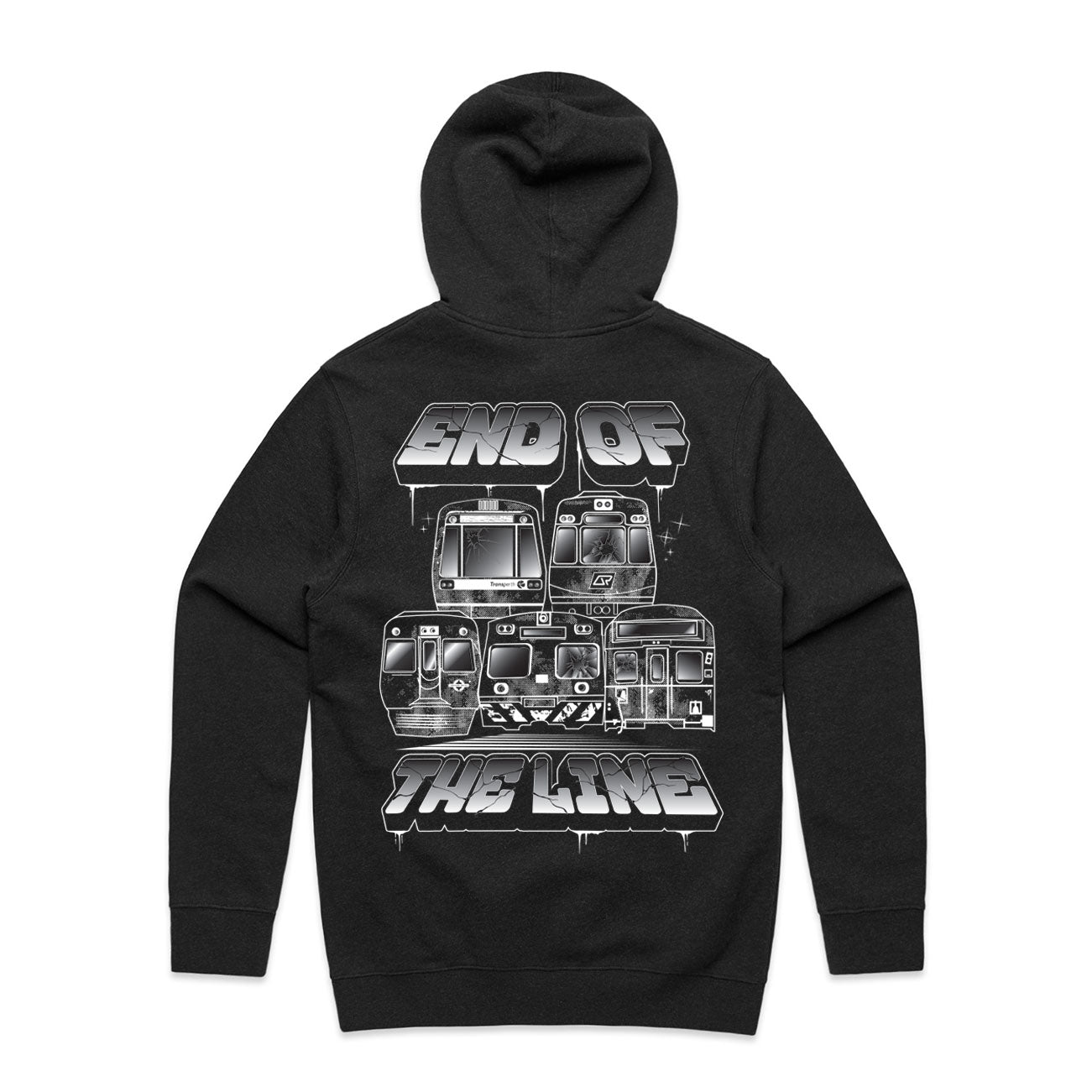 END OF THE LINE HOODIE