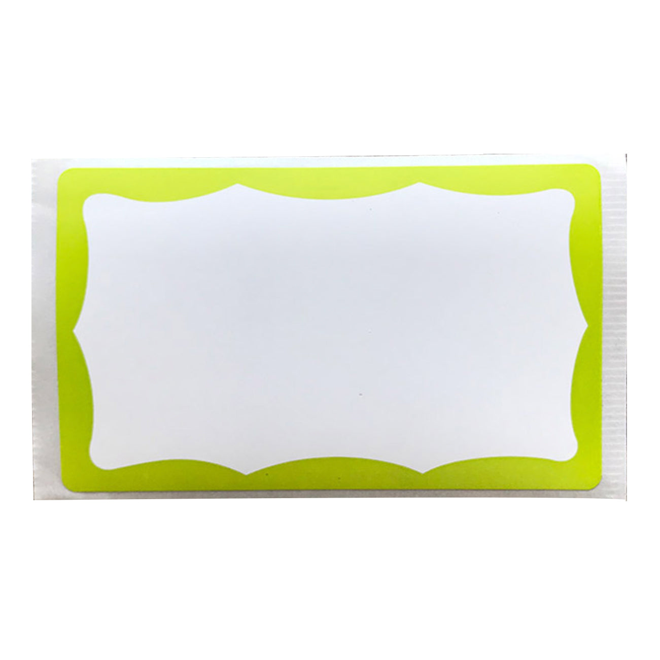 Eggshell Sticker Pack 50pcs - Lime