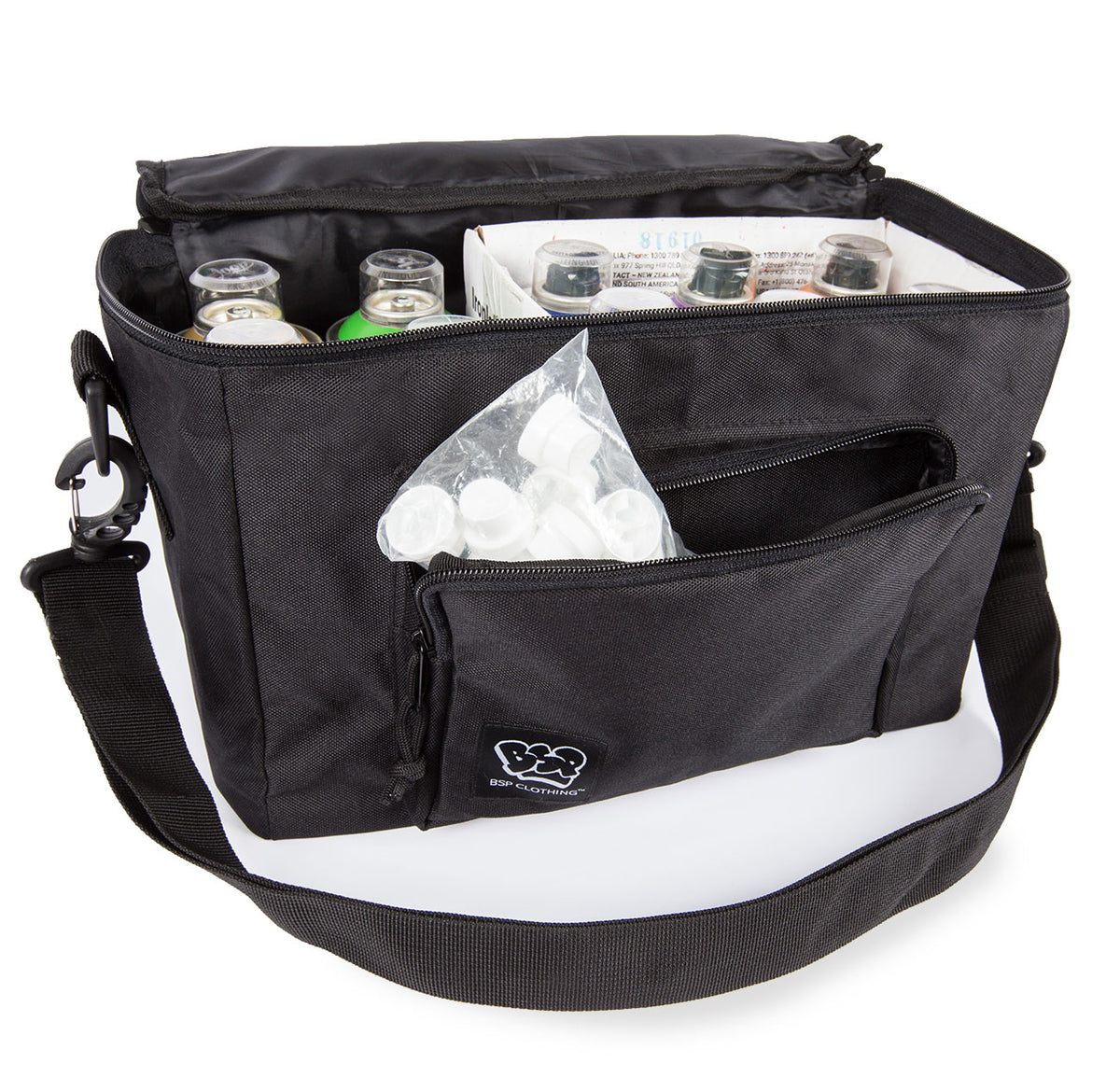 10 Pack paint bag front