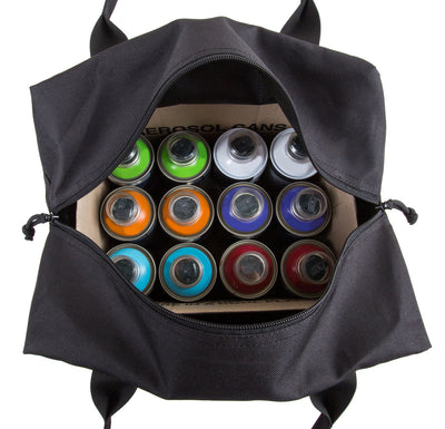 12 pack paint bag top