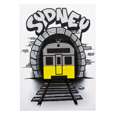 Sydney Train Keyring