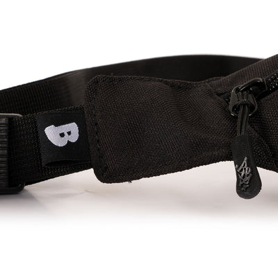 BSP midnight sling bag black custom pull cord