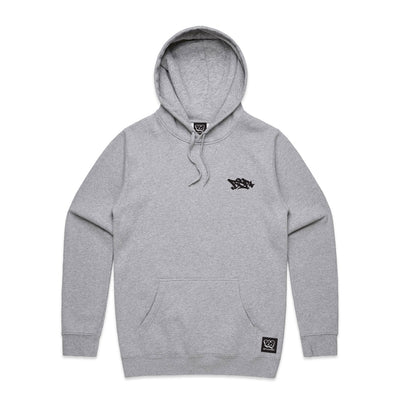 BSP CLOTHING TANGO TOWN GRAFFITI HOODIE FRONT
