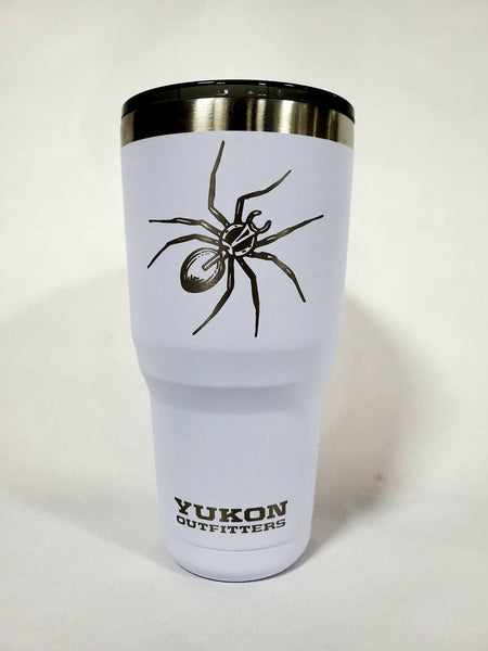 Spooky Spider 30oz White