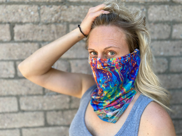 Neck Gaiter - Oil Slick