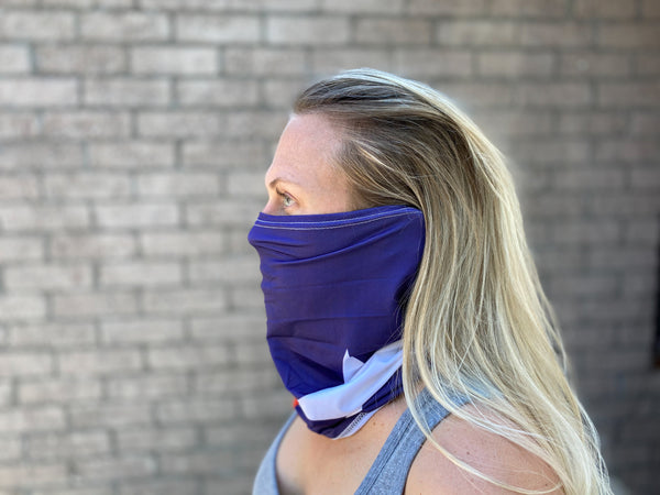 Neck Gaiter - TX Flag