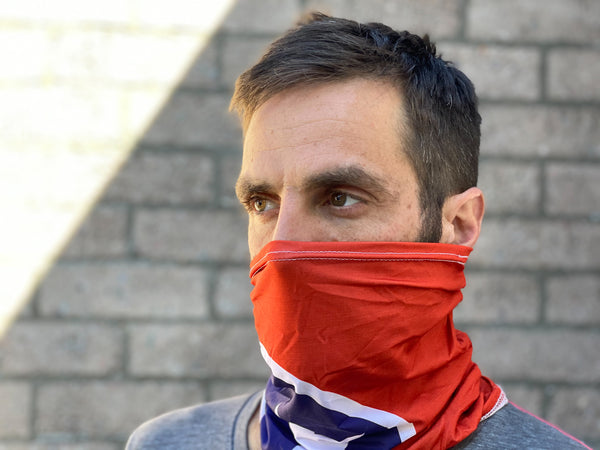 Neck Gaiter - TN Flag
