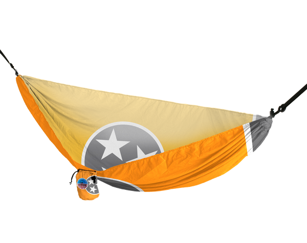 Vista Hammock (TN Flag Orange and Grey)