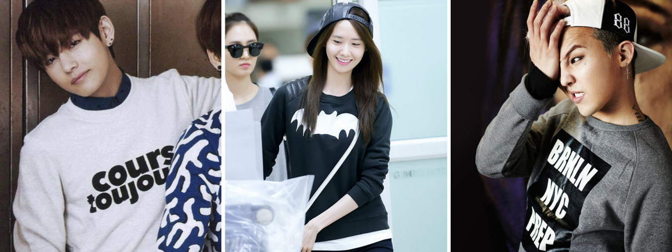 How To Be Comfortably Stylish In Crews As Shown By Idols
