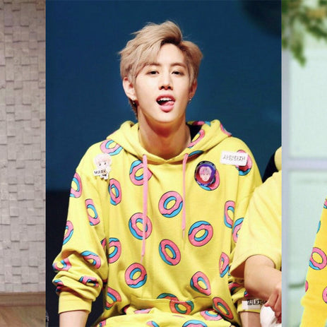 Who Wore It Best? The Popular Yellow Donut Hoodie