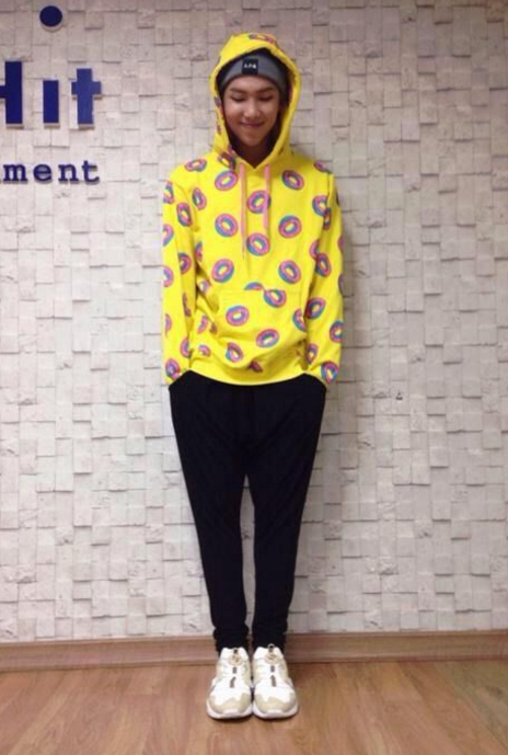 allkpop THE SHOP Who Wore It Best The Popular Yellow  : 3rapmonster from shop.allkpop.com size 464 x 689 png 584kB