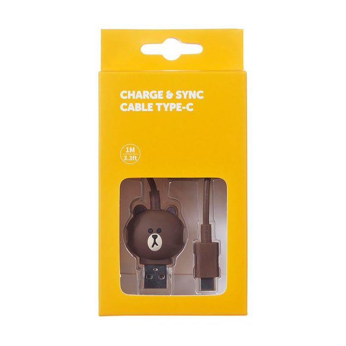 LINE FRIENDS Brown Phone Cable