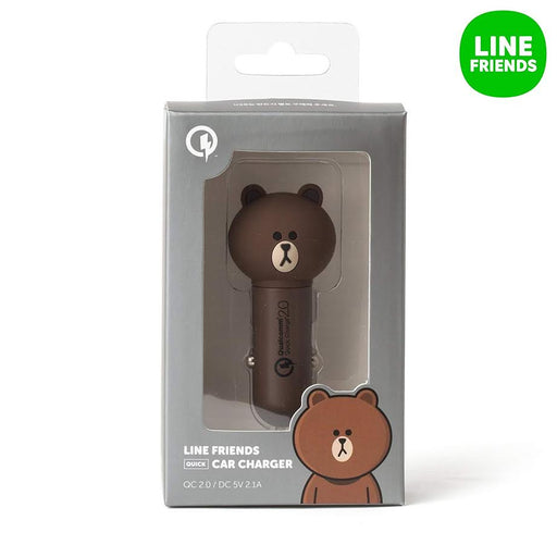LINE FRIENDS Brown Car Charger