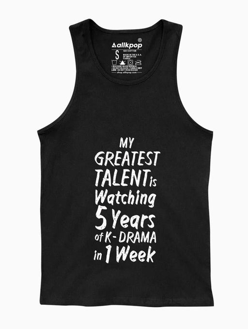 5 Years Tank Tanks AKP Unisex Black Small
