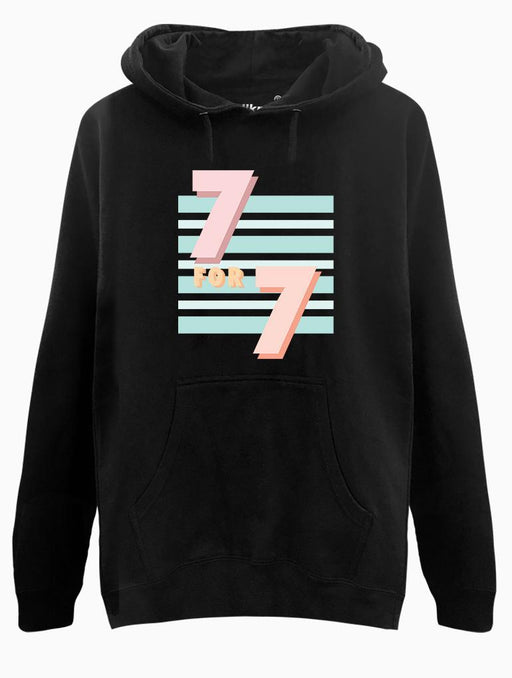 7 for 7 Hoodie Hoodies AKP Unisex Black Small