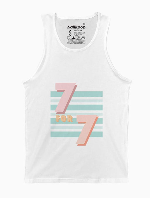 7 for 7 Tank Tanks AKP Unisex White Small