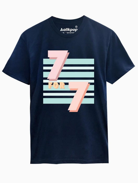 7 for 7 Tee Tees AKP Male Navy Small