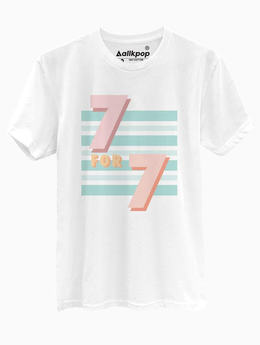 7 for 7 Tee Tees AKP Male White Small