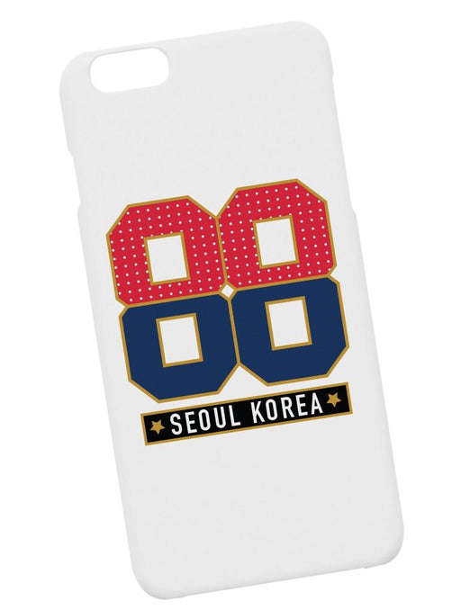 88 Seoul Case Phone Case AKP White