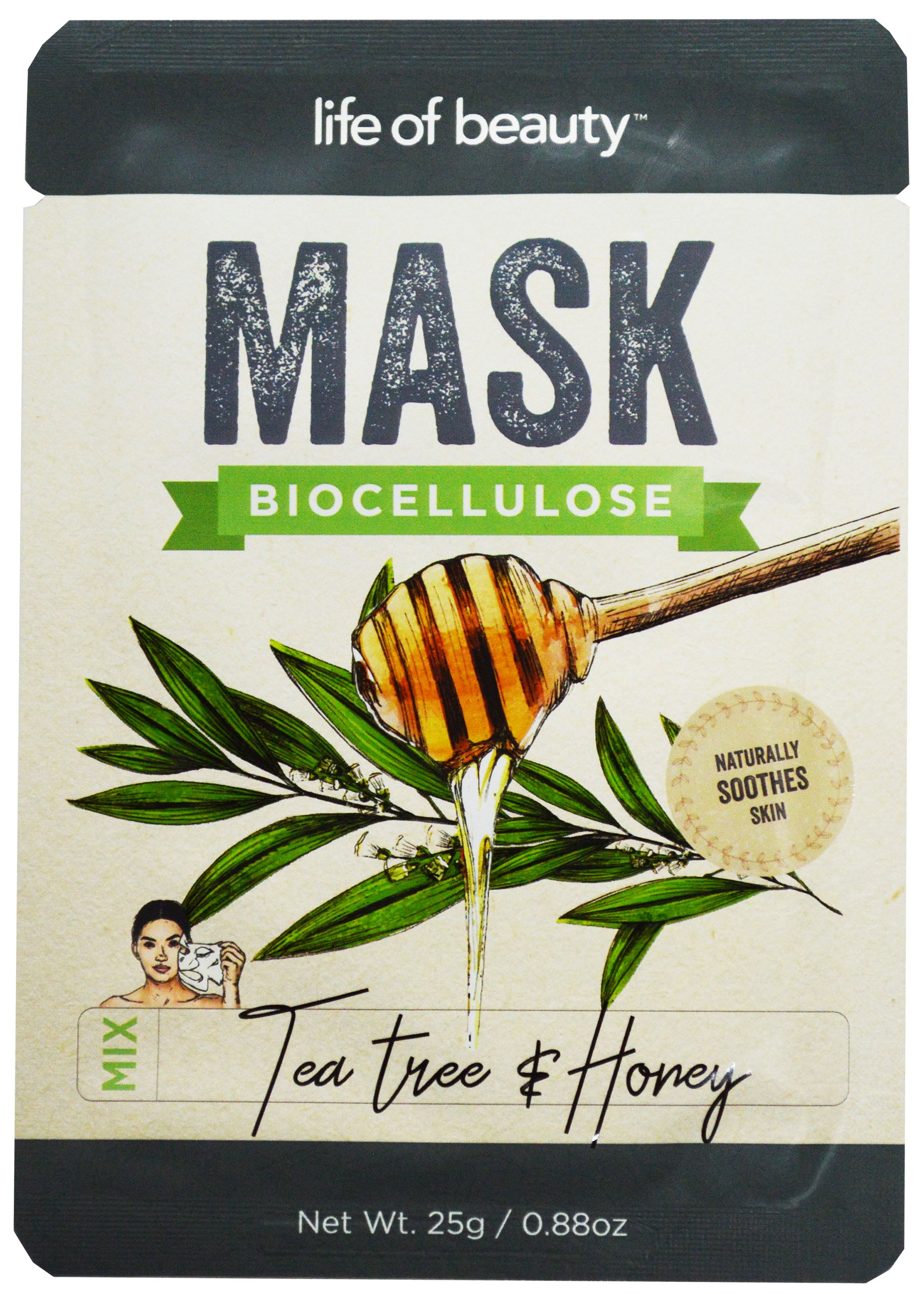Tea Tree & Honey Face Mask